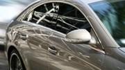 Automotive: gray car