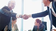 Business Opportunities: People shaking hands