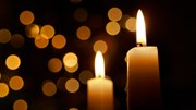 In Memoriam: Candle and lights