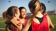 The Mash: Girls at a sport practice