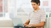 Chicago Tribune ROS: Man on computer