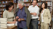 Literary Events: Author signing in bookstore
