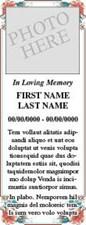 Sample print notice