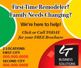 Sample online ad
